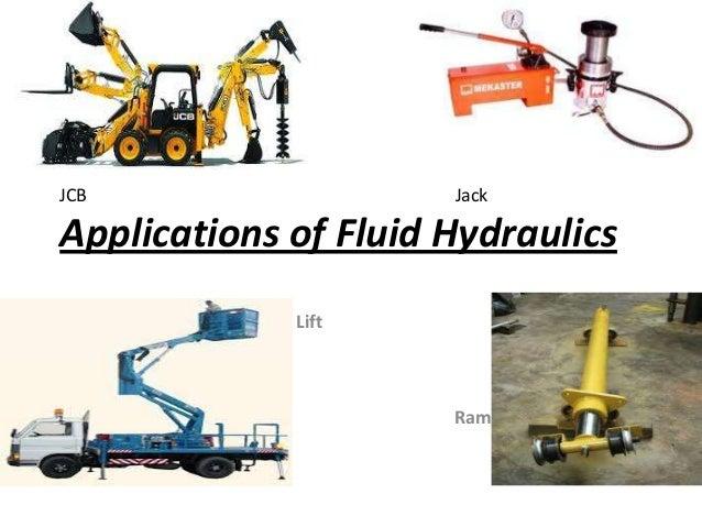 Applications of fluid ...