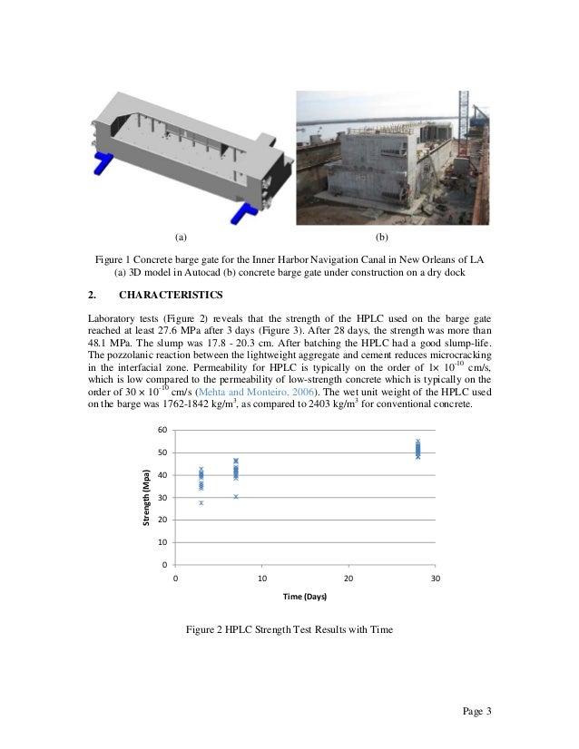 high performance lightweight concrete