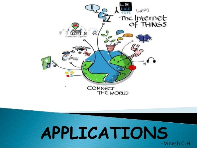 applications of iot  internet of things