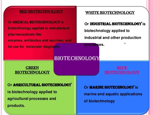 biotechnology and its application in agriculture