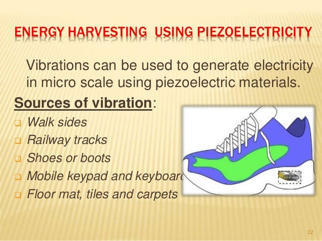 Applications Of Piezo Electricity