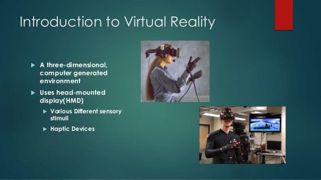 virtual reality computer generated simulation essay
