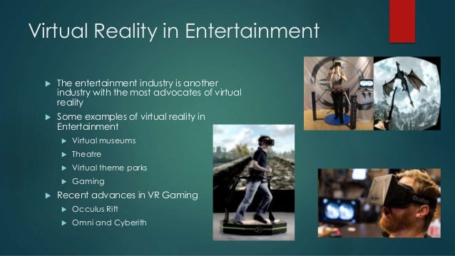 applications of virtual reality essay Many people are familiar with the term 'virtual reality' but are unsure about the uses of this technology gaming is an obvious virtual reality application as are.