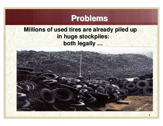Applications of waste tire products in civil engineering