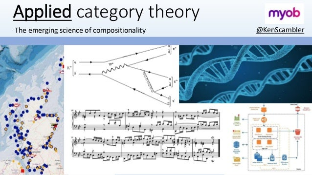 Applied category theory The emerging science of compositionality @KenScambler