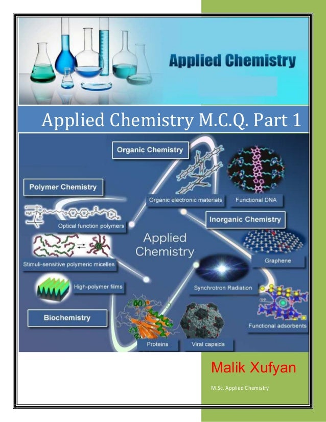 Applied Chemistry Multiple Choice Questions with Answers