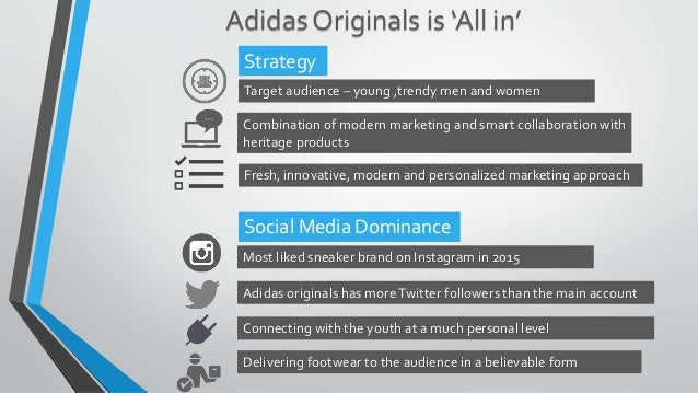 super cheap b93b1 00869 ... LIKED SNEAKER BRANDS ON INSTAGRAM 2015 Infographic Americas Most Wanted Sneaker  Brands Statista Adidas Originals Social Media Marketing Strategy ...