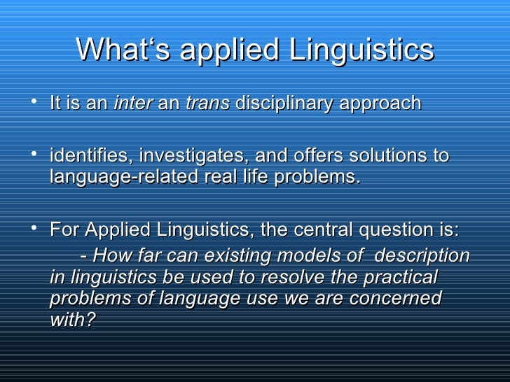 Doctoral dissertation in applied linguistics