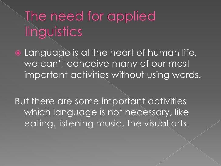 Applied linguistics hmwk