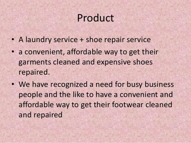 shoe laundry business plan
