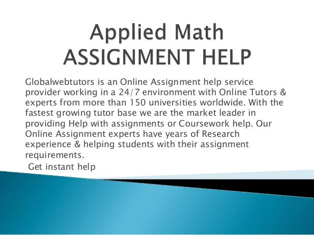 Why do students seek for Online Assistance with their Math Assignments?