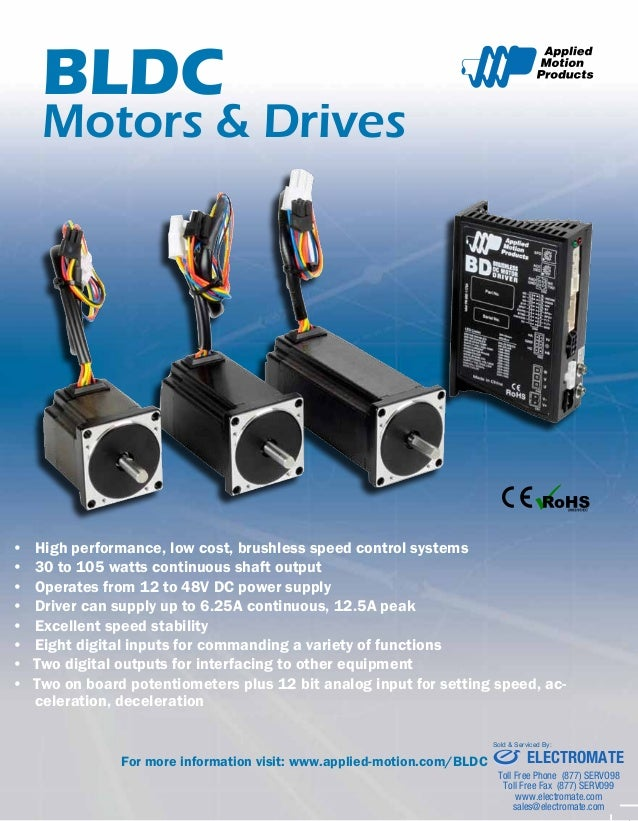 Applied Motion Products Bldc Datasheet