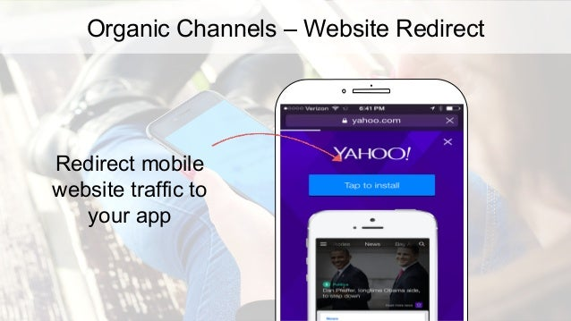 Organic Channels – Email Encourage email subscribers to download your app 53% of emails are opened on a mobile device. Sou...