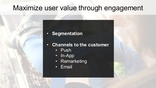 (your entire userbase) Sports Apparel App Segment your audience