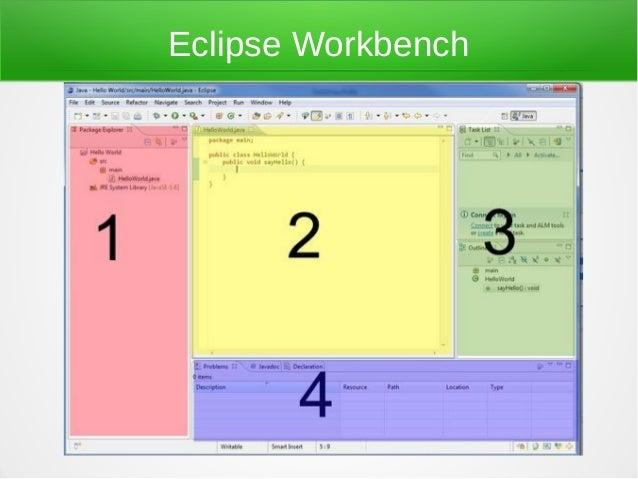 Eclipse Workbench
