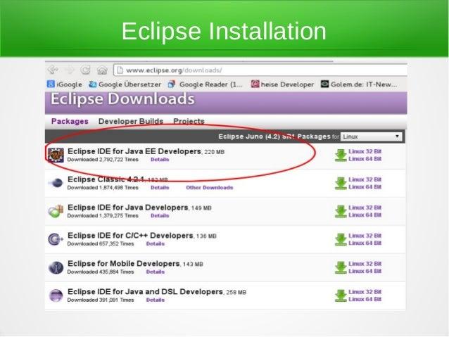 Eclipse Installation