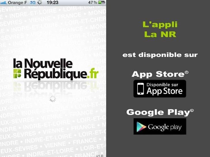 Appli la Nouvelle République
