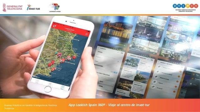 App Lookish Spain 360º - Viaje al centro de Invat·turBuenas Prácticas en Gestión Inteligente de Destinos Turísticos