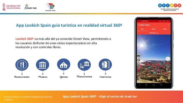 App Lookish Spain guía turística en realidad virtual 360º App Lookish Spain 360º - Viaje al centro de Invat·turBuenas Prác...