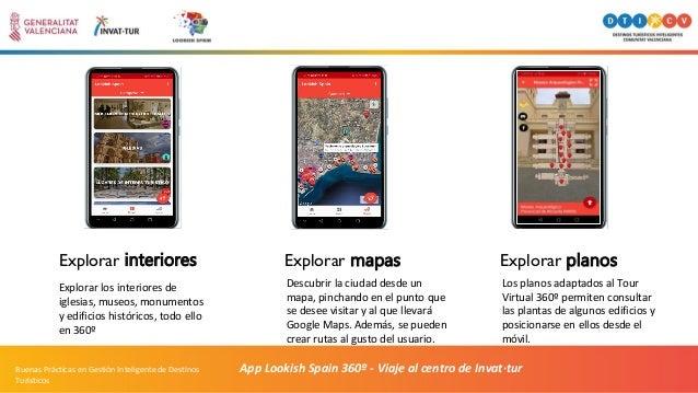 App Lookish Spain 360º - Viaje al centro de Invat·turBuenas Prácticas en Gestión Inteligente de Destinos Turísticos Explor...