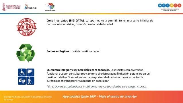 App Lookish Spain 360º - Viaje al centro de Invat·turBuenas Prácticas en Gestión Inteligente de Destinos Turísticos Contri...