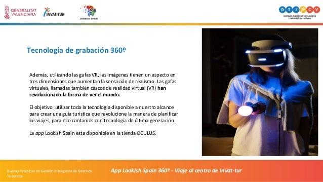 Tecnología de grabación 360º App Lookish Spain 360º - Viaje al centro de Invat·turBuenas Prácticas en Gestión Inteligente ...