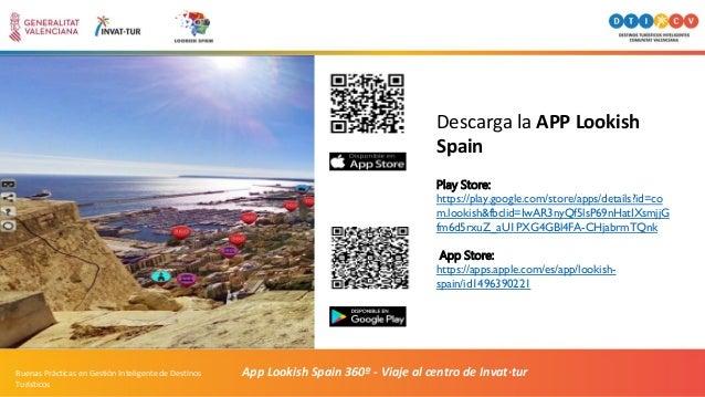 App Lookish Spain 360º - Viaje al centro de Invat·turBuenas Prácticas en Gestión Inteligente de Destinos Turísticos Play S...