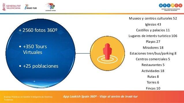 App Lookish Spain 360º - Viaje al centro de Invat·turBuenas Prácticas en Gestión Inteligente de Destinos Turísticos + 2560...