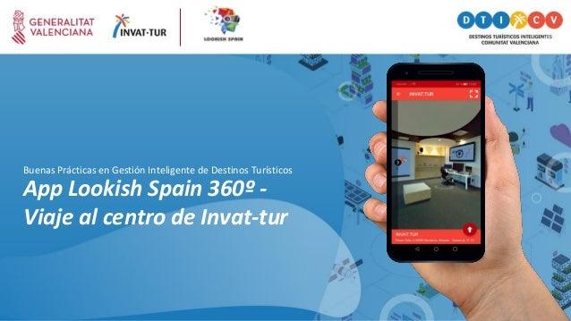 App Lookish Spain 360º - Viaje al centro de Invat-tur Buenas Prácticas en Gestión Inteligente de Destinos Turísticos