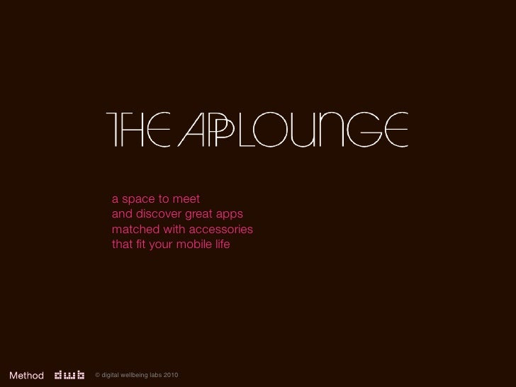 a space to meet      and discover great apps      matched with accessories      that fit your mobile life     © digital wel...