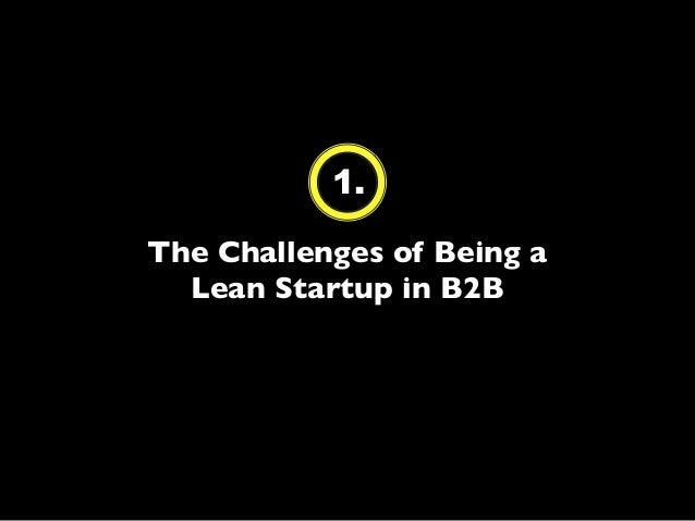 Apply the Lean Startup in B2B to Build Products Businesses Want (Course Slides) Slide 2
