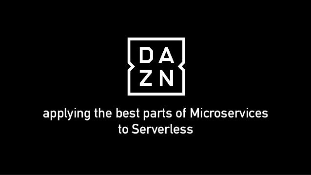 applying the best parts of Microservices to Serverless