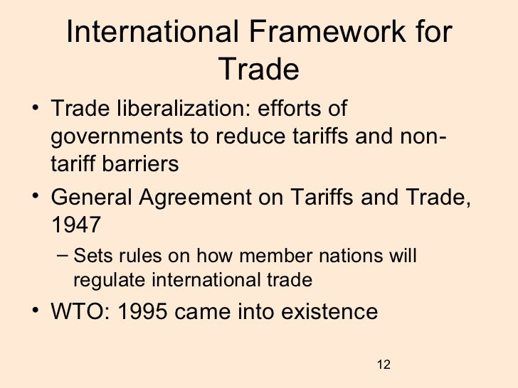 tariff and non tariff barriers What is a non-tariff barrier (ntb) non-tariff barriers (ntbs) refer to restrictions that result from prohibitions, conditions, or specific market requirements that make importation or exportation of products difficult and/or costly.