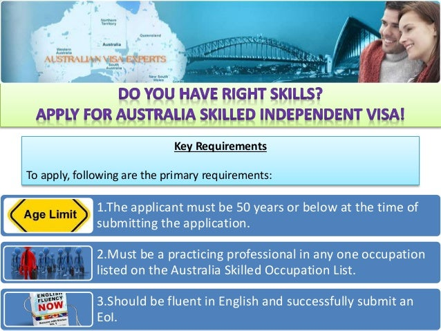 how to get skilled visa australia