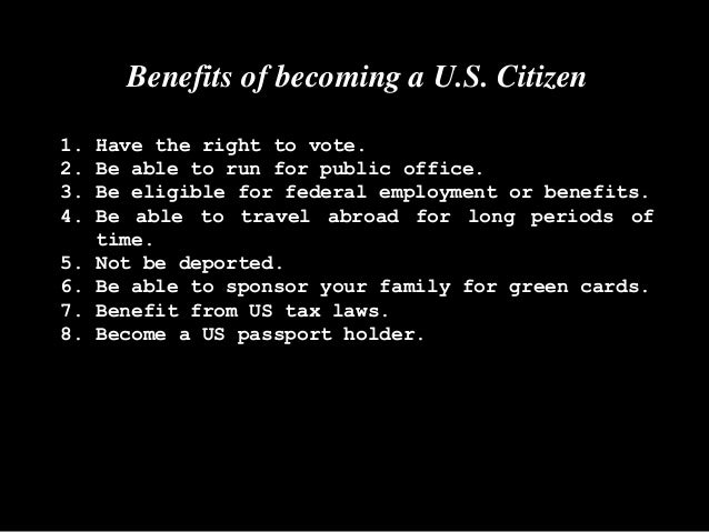 Apply for U.S Citizenship Overview
