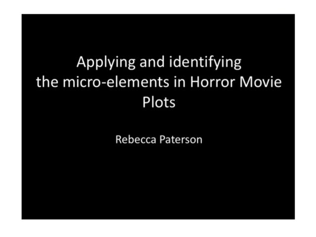 Applying and identifying micro elements