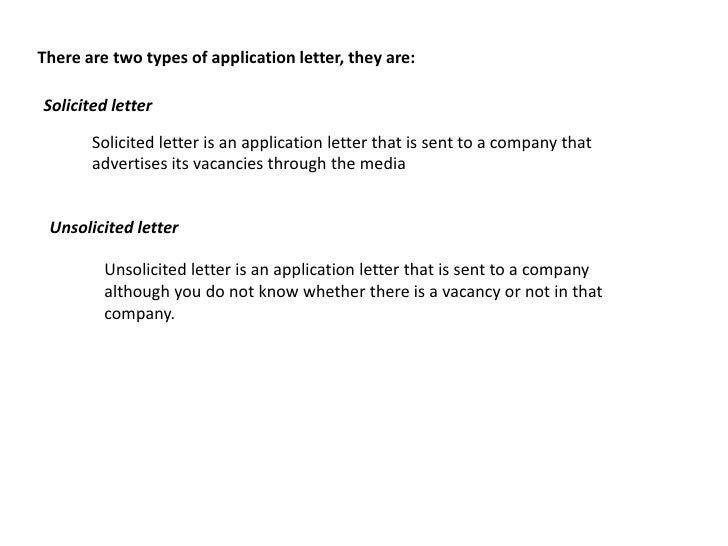 Solicited Vs  Unsolicited Cover Letters   Woman Essay Format For Middle School Students