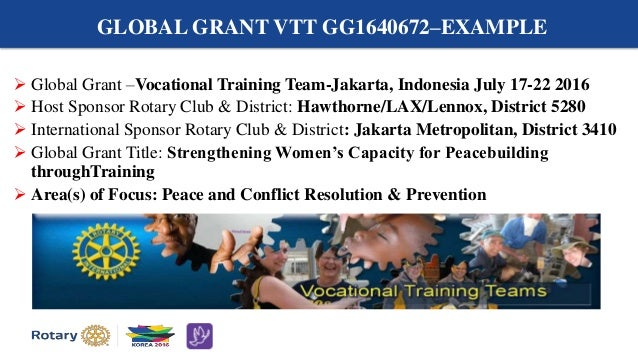 Applying for Global Grants That Promote Peace