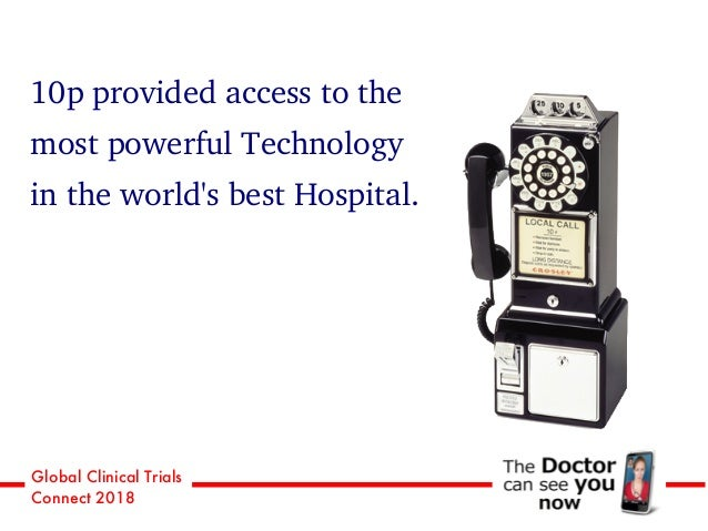 Global Clinical Trials Connect 2018 10p provided access to the most powerful Technology in the world's best Hospital.