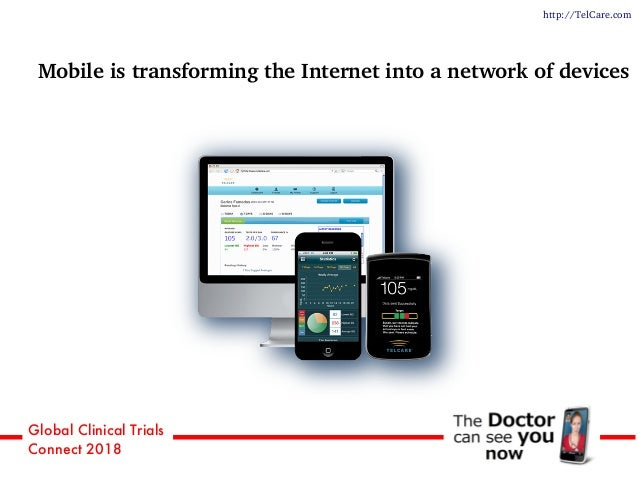 Global Clinical Trials Connect 2018 Mobile is transforming the Internet into a network of devices http://TelCare.com