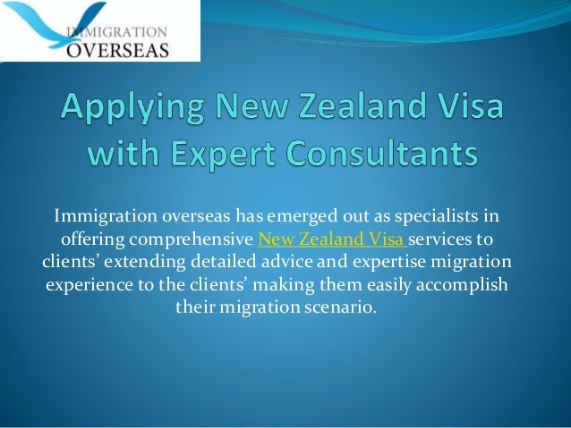Immigration overseas has emerged out as specialists in offering comprehensive New Zealand Visa services to clients' extend...