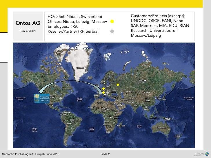 HQ: 2560 Nidau , Switzerland          Customers/Projects (excerpt):                                 Offices: Nidau, Leipzi...