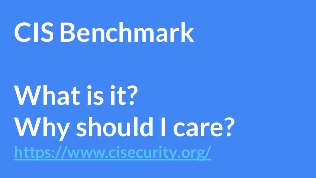 Applying the CIS benchmark using Ansible & Packer