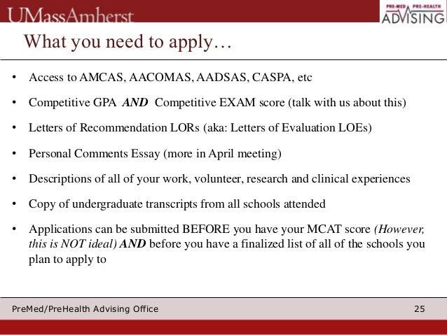 Applying to medical school 2015 part_I