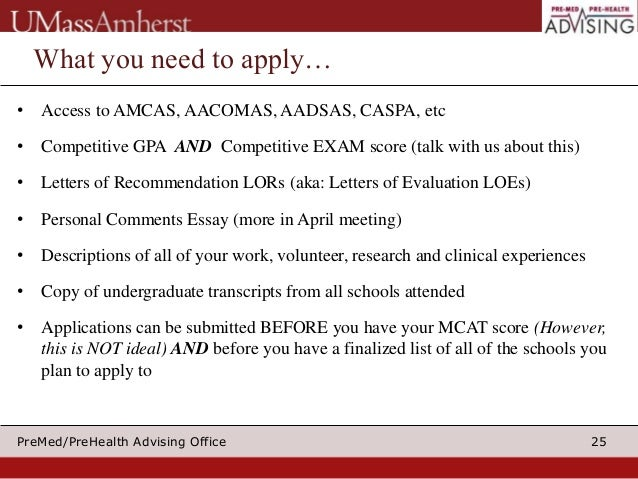 applying to medical school 2015 part i