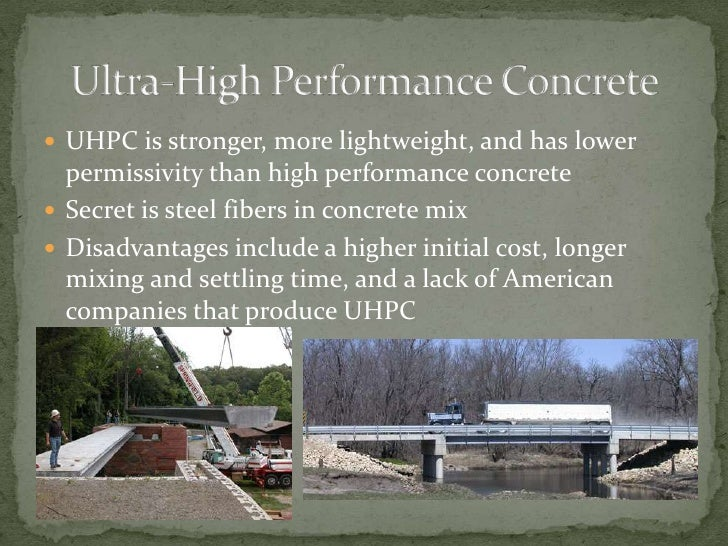 ultra high strength concrete mixtures using local This paper presents the development of ultra high strength concrete (uhsc) using local materials uhsc mixture proportions were developed using local materials so that uhsc may be made more affordable to a wider variety of applications.
