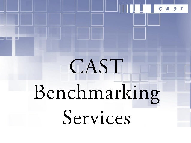 CAST Benchmarking Services The Appmarq database is the world's first and only application structural quality benchmarking ...