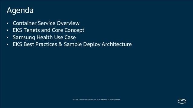 [AWS Dev Day] 앱 현대화 | DevOps 개발자가 되기 위한 쿠버네티스 핵심 활용 예제 알아보기 - 정영준 AWS 솔루션즈 아키텍트, 이상호 삼성전자 Health서비스팀 선임 Slide 3