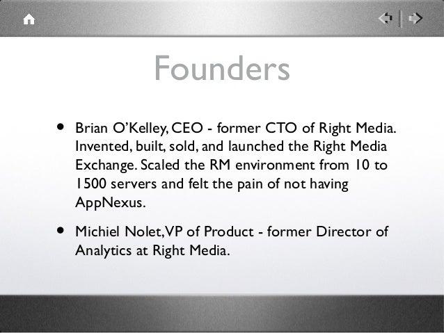 AppNexus' First Pitch Deck Slide 3