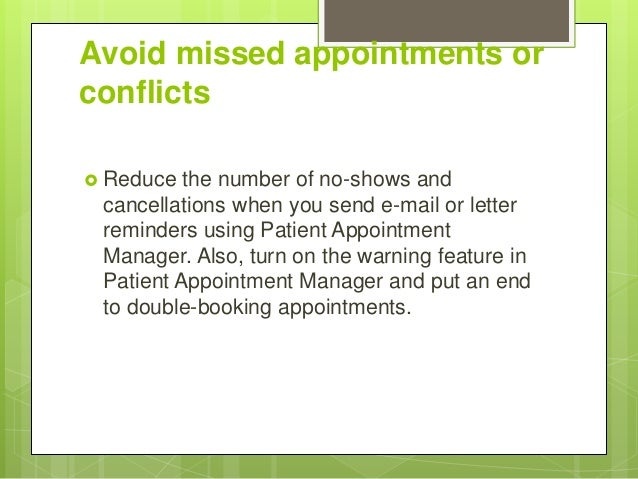 Appointment scheduling software for dentists 4 avoid missed appointments thecheapjerseys Images